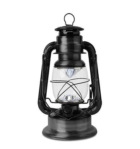 L And Lantern by 11 5 Inch Battery Operated Vintage Style Dimmable Lanter