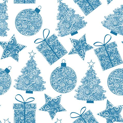 cute christmas pattern cute christmas seamless pattern vector free vector in