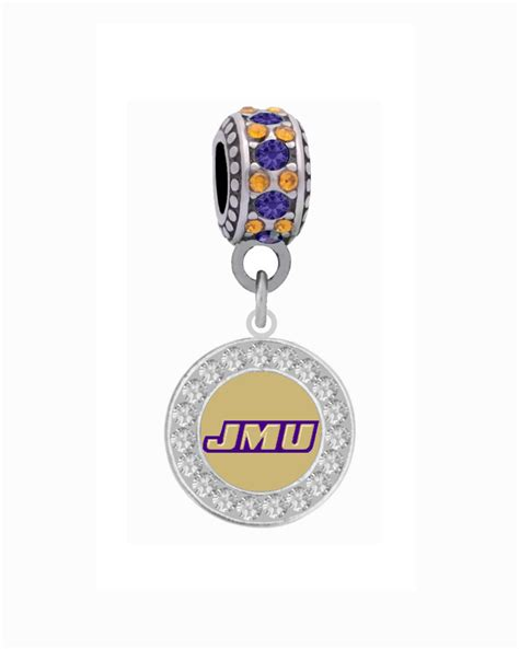 James Madison University Crystal Frame Charm ? Final Touch
