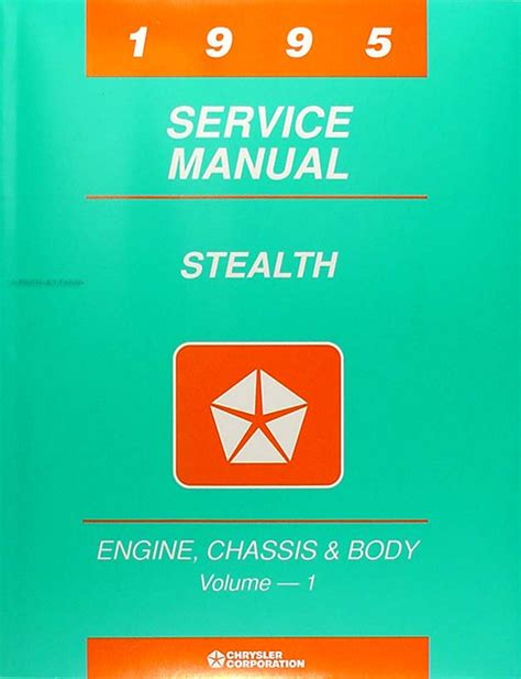 how to download repair manuals 1995 dodge stealth on board diagnostic system 1995 dodge stealth repair shop manual original set with rt and turbo