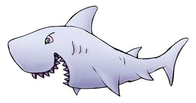 Great White Shark Clip by Expressions Clipart Cliparthut Free Clipart