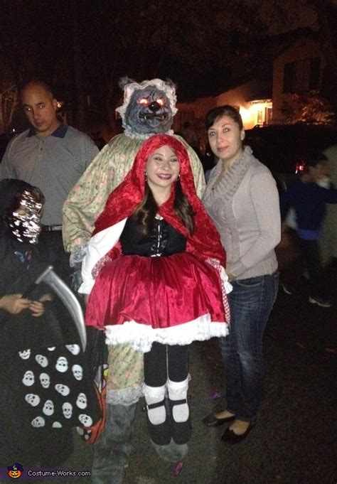 red riding hood  carried   big bad wolf