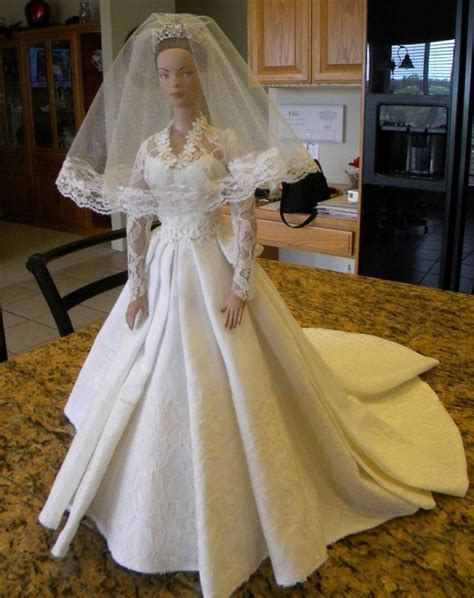 17 Best ideas about Barbie Wedding Dress on Pinterest