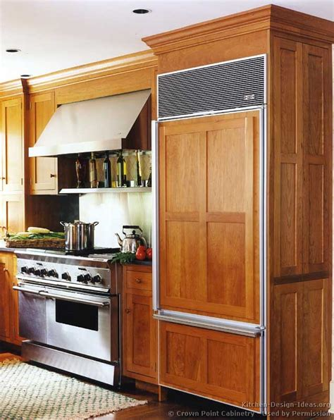 kitchen refrigerator cabinets shaker kitchen cabinets door styles designs and pictures