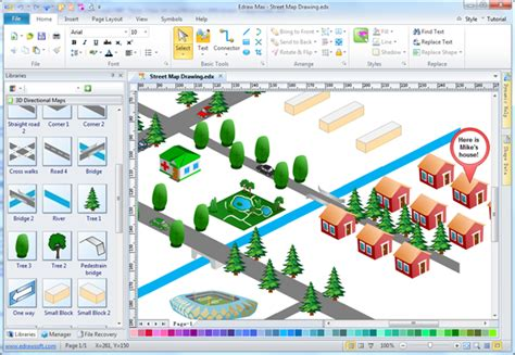 software map drawing free easy map drawing software make map directions