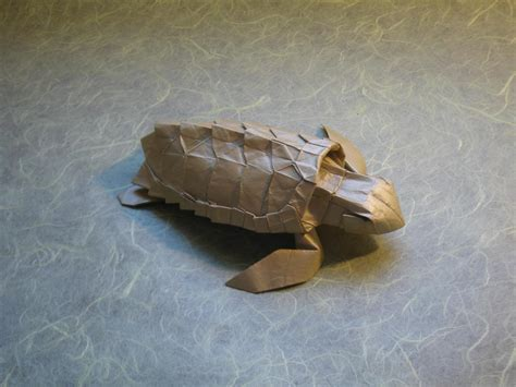 Sea Turtle Origami - loggerhead sea turtle by origami artist galen on deviantart