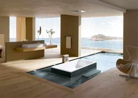 Luxury Ensuite Designs - open plan luxury ensuite bathroom interior design ideas