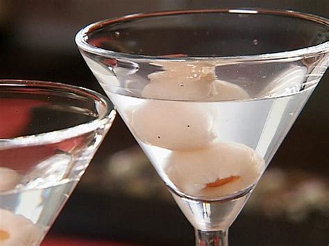 lychee vodka lychee recipe danny boome food network