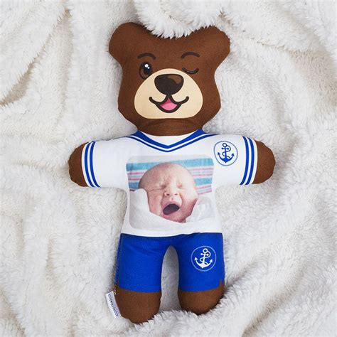personalised teddy bears all over printed custom teddy