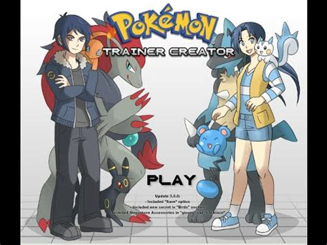 pokemon trainer girl creator pokemon trainer maker youtube