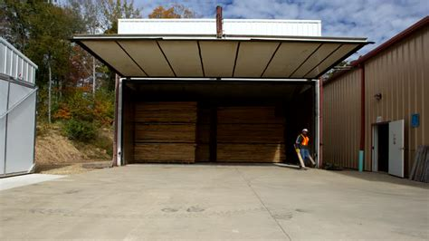 Garage Door Unlock Lumber Yard Transporte Acelerado Estados Unidos 4k