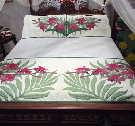 Hawaiian Quilt Bedding by The 25 Best Bed Runner Ideas On Yo Yo Quilt Yo Yo Image And Puff Sheet Image