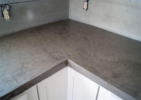 Concrete Laminate Countertops by Diy Concrete Counters Poured Laminate Averie