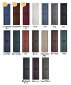 house shutter colors 25 best ideas about shutter colors on