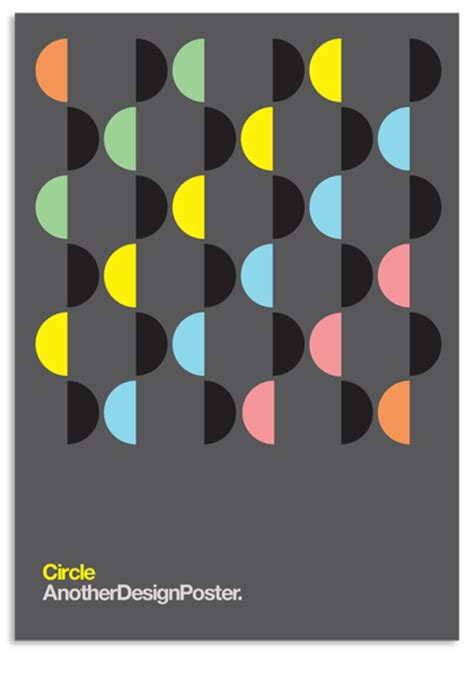 moire pattern graphic design anotherdesignposter modernist circles set