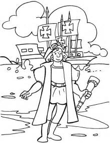 christopher columbus coloring pages christopher columbus day coloring page free