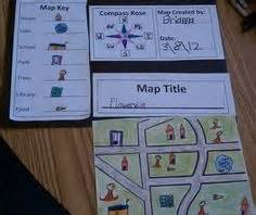 Grade Bedroom Map Project Map Skills On