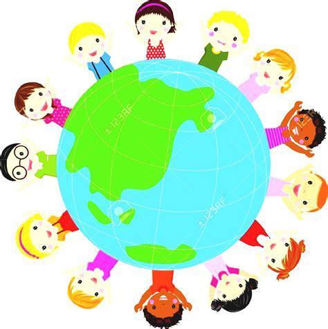 Around The World For Free clipart free world children clipground