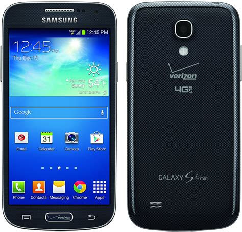 android phones verizon samsung galaxy s4 mini 16gb sch i435 android smartphone for verizon black mist mint
