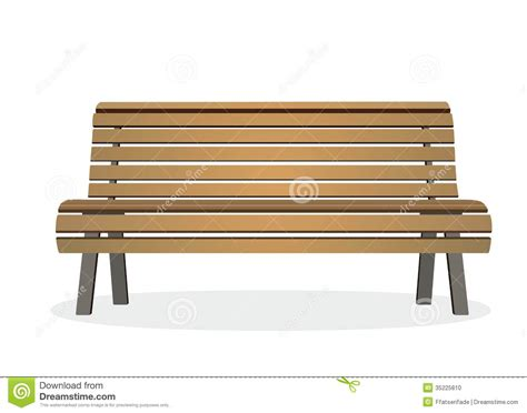 bench stock bench stock illustration image of park view bench