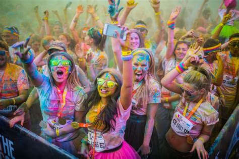 what is the color run the color run kick events