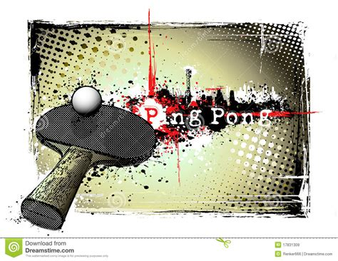 ping pong frame royalty free stock images image 17831309