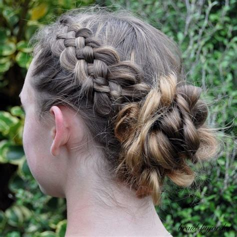 tween updo 40 cute and cool hairstyles for teenage girls