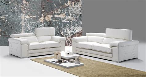 canapé cuir italien design salon moderne sfax