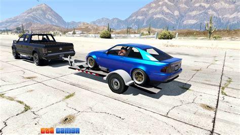 gta 5 boat trailer cheat car trailer 2016 add on gta5 mods