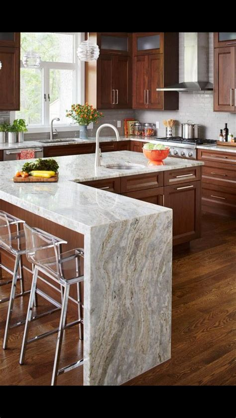 diy wood waterfall countertop the 25 best waterfall countertop ideas on