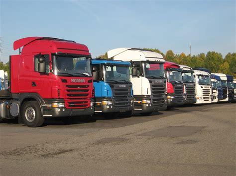 scania trucks scania prt range