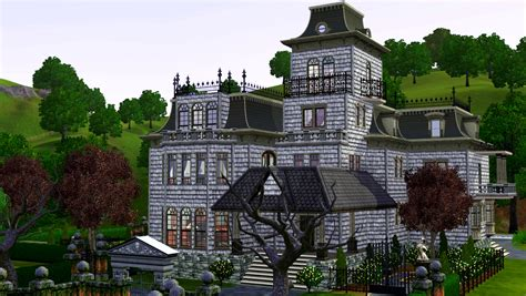 Stone Cottage Floor Plans mod the sims mighty mansard redux store edit amp more