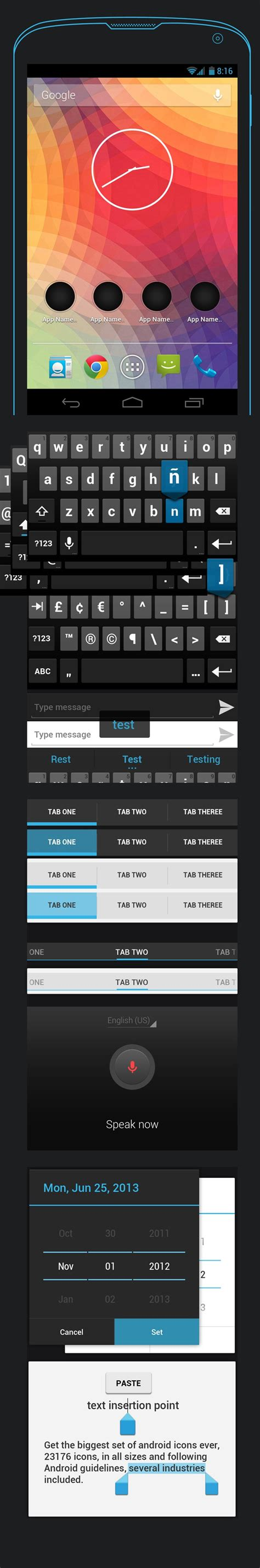 design android application gui android gui