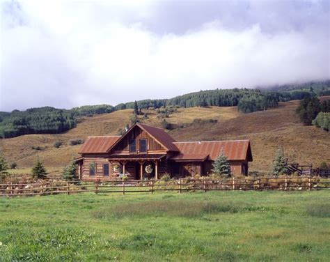 rancher logging ranch log cabin rustic exterior other by copper