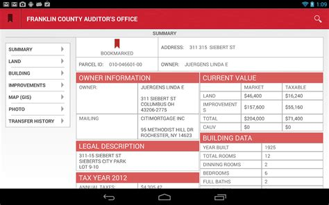 Franklin County Auditor Property Search By Address Franklin County Auditor Real Estate Pkhowto