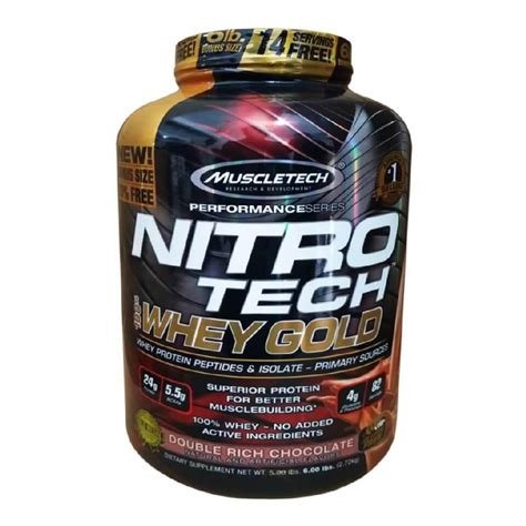 Muscletech Nitrotech Whey Gold 6lb muscletech nitrotech perf ser 100 whey gold 6 lbs healthxp