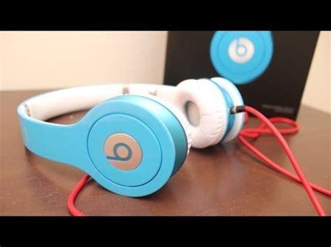 beats by dre hd unboxing new color smartie blue hd