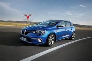 Renault Mégane Iv 2017 Renault Megane Iv Estate Rendered Autoevolution