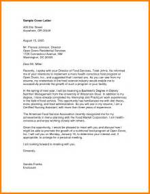 Cover Letter For A Nursing Assistant by 7 Cna Cover Letter Exles Bid Template