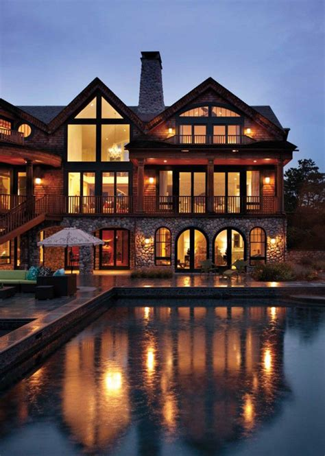 luxury mountain house designs