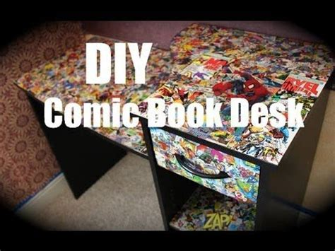 comic book bedroom ideas diy comic book desk bedroom ideas pinterest