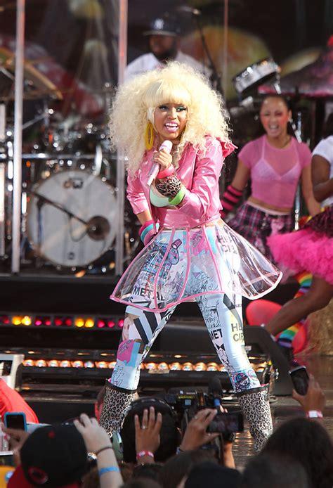 Singers Wardrobe by Nicki Minaj Photos Photos Nicki Minaj Performs In
