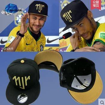 Topi Hip Hop Snapback 6 neymar jr njr brazil brasil topi baseball hip hop olahraga