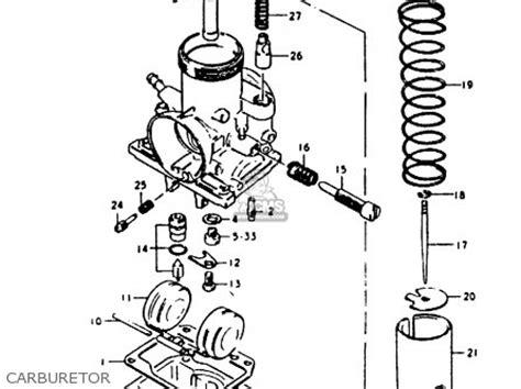 Suzuki Gp100 Parts Suzuki Gp100 1979 Un Parts List Partsmanual Partsfiche