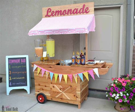 Bathroom Design Tool Free Diy Lemonade Stand With Wheels Her Tool Belt