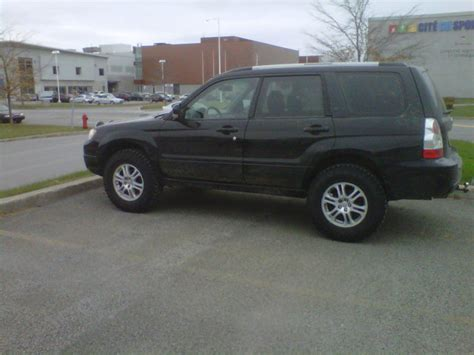 subaru forester 2009 tires big tires road package subaru forester owners forum