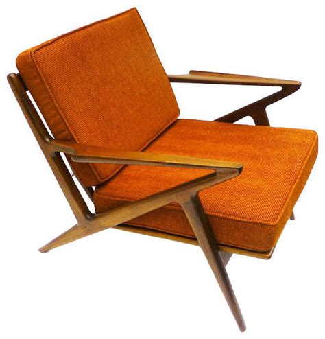 Chaise Orange Palm Springs Lounge Chair In Electric Orange Modern