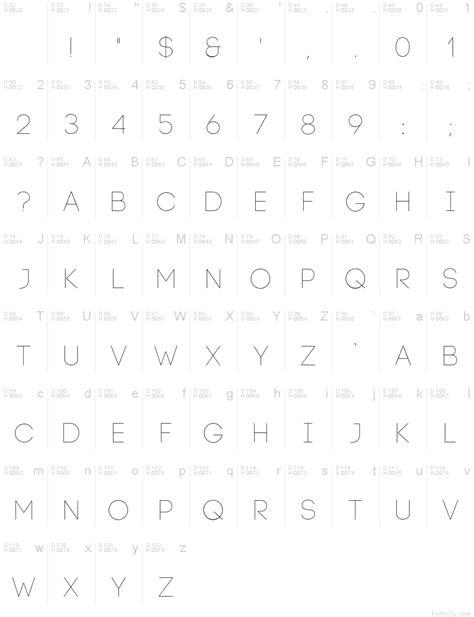 Code Light Font by Code Light Font