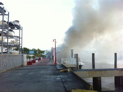 grapevine fire boat coconut grove grapevine boats on fire million dollar losses