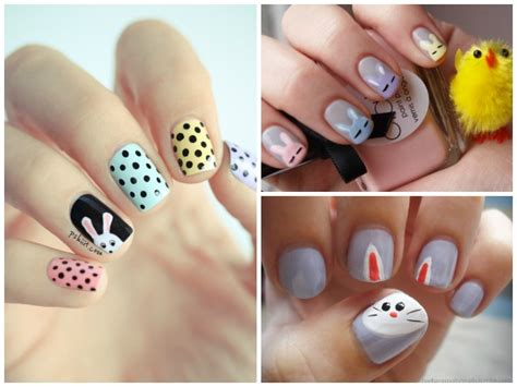 Nail Zelf Doen Stap Voor Stap by Diy Easter Nail Find Projects To Do At Home